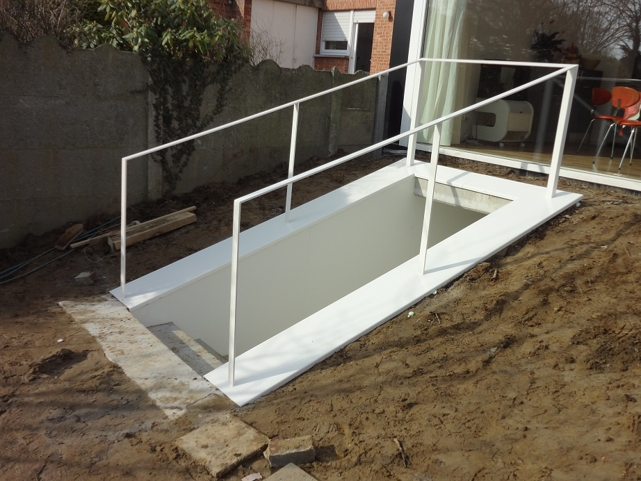 Balustrades fabrikant offerte balustrade trap terras - Ijzer terras ...